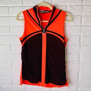 Jamie Sadock Golf Shirt Size Small Top Sleeveless